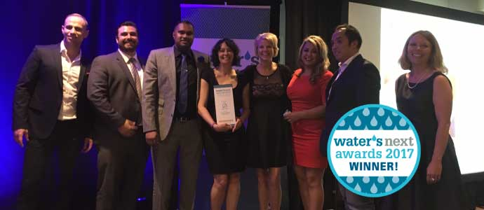 NEWS RELEASE: Eddy Home Wins Water Canada Award