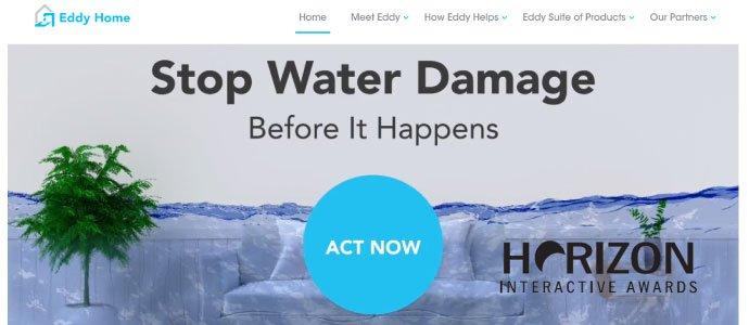 Eddy Home's Website Wins Horizon Award!