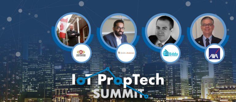 IoT PropTech Design - Smart design - Smith + Andersen Eddy Solutions AXA XL